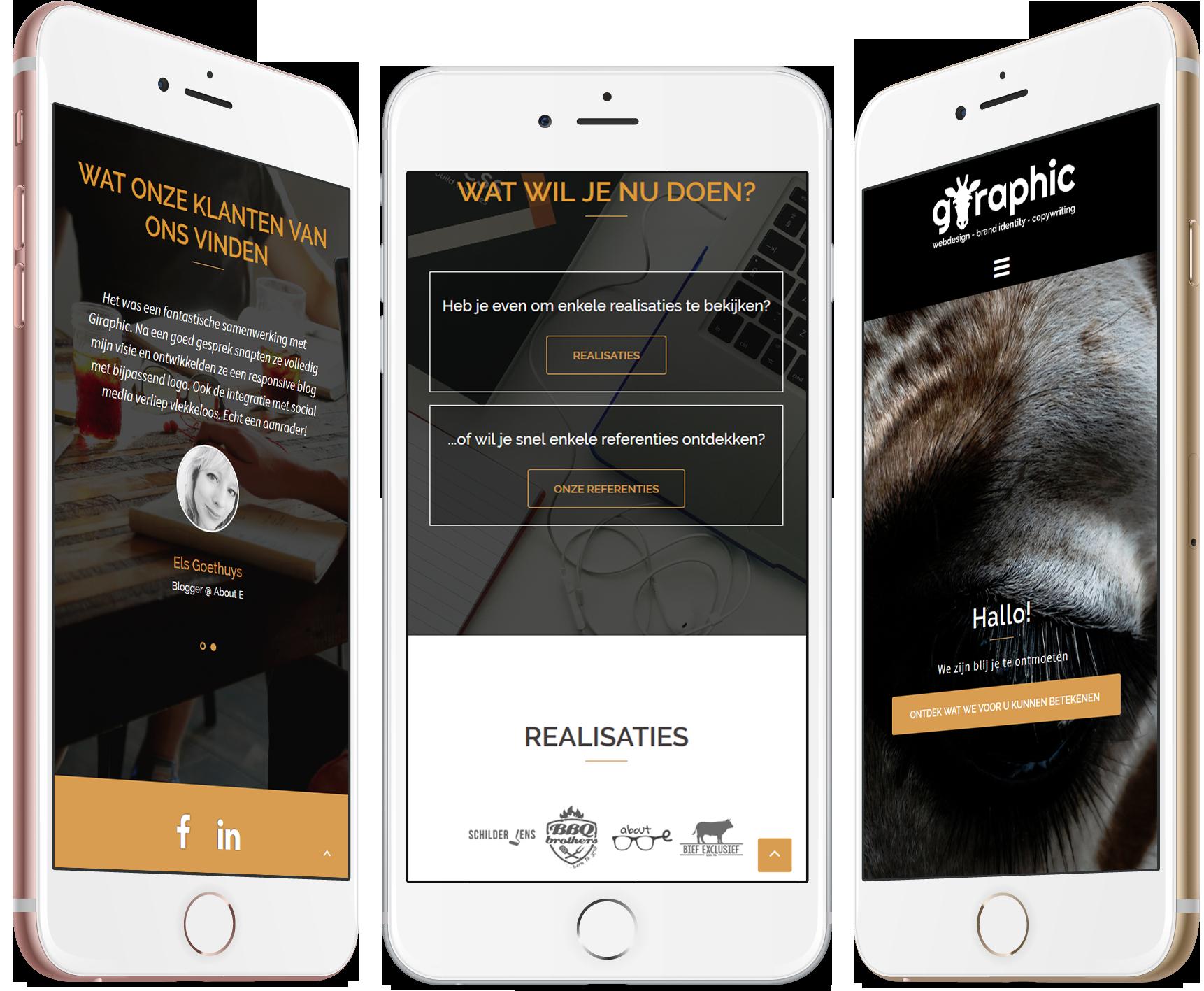 Giraphic - webdesign - copywriting - brand identity